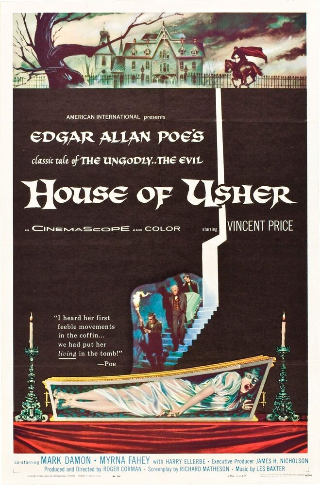 the fall of the house of usher setting essay