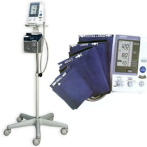 Omron Hem 907xl Pro Blood Pressure Monitor With Stand Ebay
