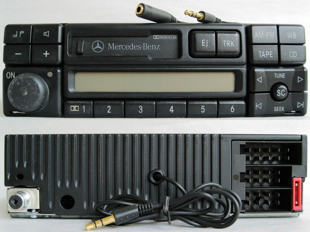 mercedes radio aux input adapter stereo receiver auxiliary. Black Bedroom Furniture Sets. Home Design Ideas
