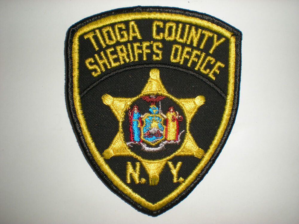 TIOGA COUNTY, NEW YORK SHERIFF'S OFFICE PATCH | eBay