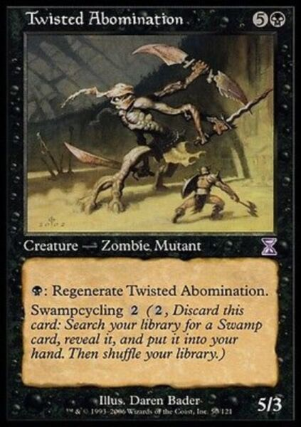 ABOMINIO FOLLE - TWISTED ABOMINATION Magic TSP Mint