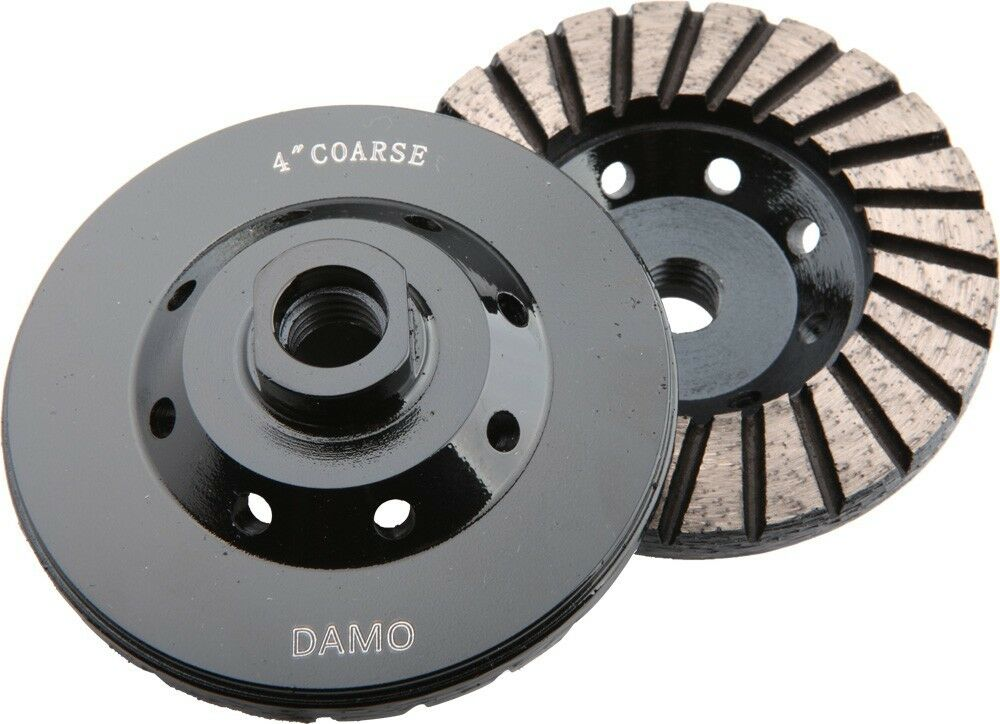 4 Quot Diamond Turbo Grinding Cup Wheel Coarse For Concrete