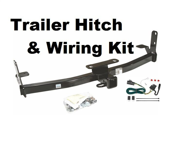 2007 2009 chevrolet chevy equinox trailer tow hitch w wiring kit no drilling ebay
