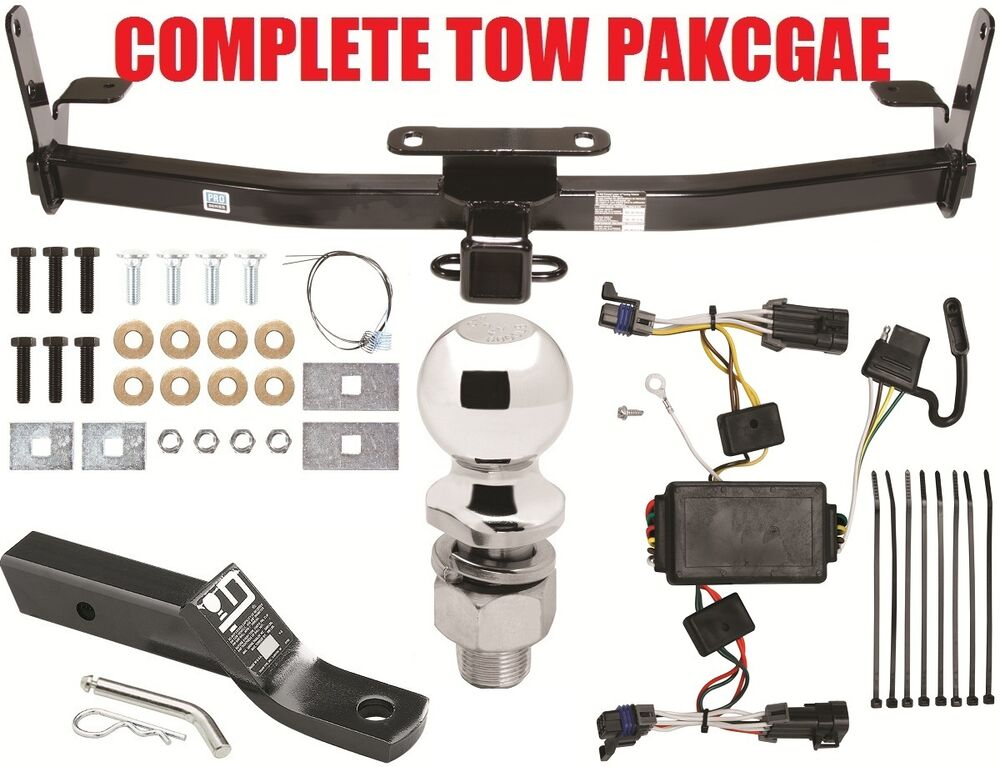2002 2007 saturn vue complete trailer hitch package w wiring mount new ebay