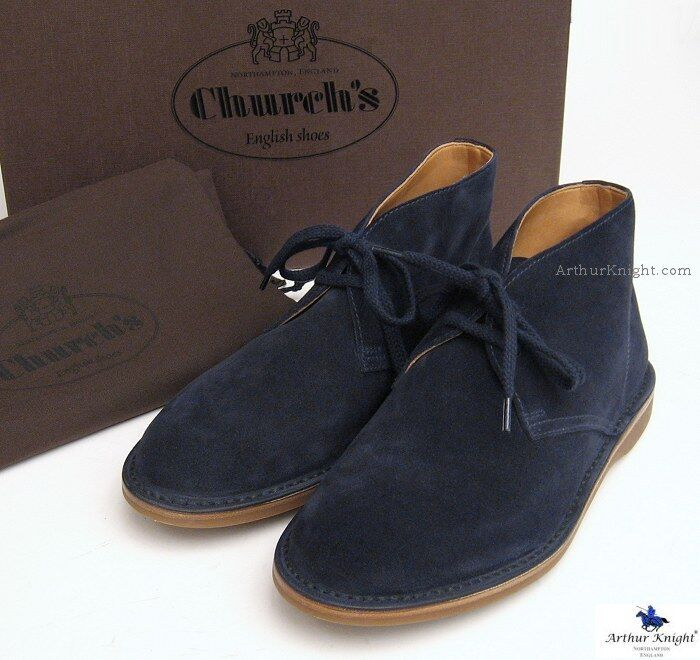 Brilliant Clarks Womens Suede Desert Boots Navy Blue Lace Up Ankle Shoes | EBay