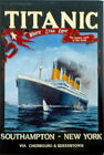 R.M.S/Titanic/Postcard/Southampton - New York/Belfast/Irish/Ireland/New