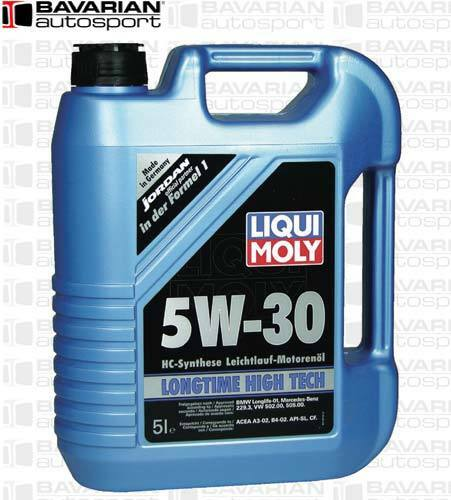 Liquimoly 5w30 Synthetic Longtime High Tech Oil Change Kit