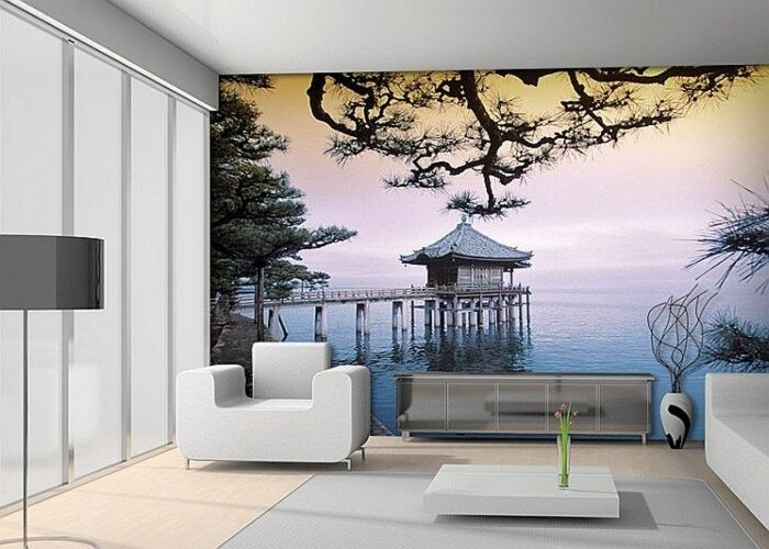 Zen Temple - Photo Wall Mural Wallpaper