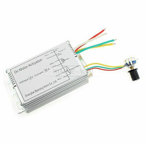 12v 30a Dc Motor Speed Control Pwm Hho Rc Controller Ebay