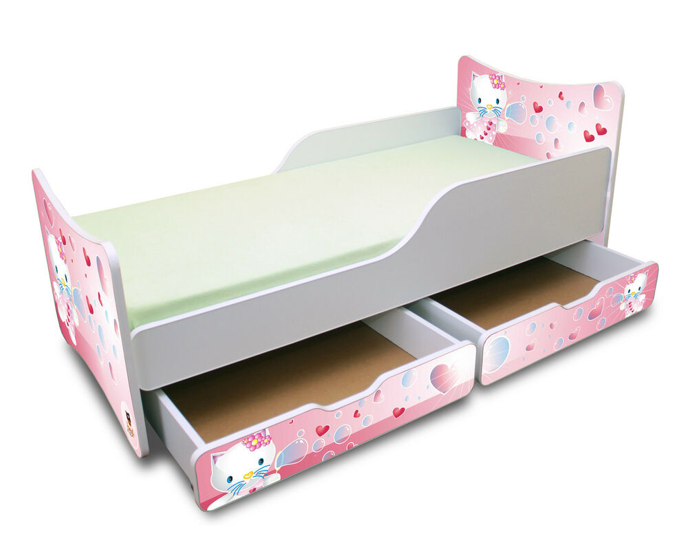 Bestforkids amazing toddler bed with mattress and two for How long should a bed mattress last