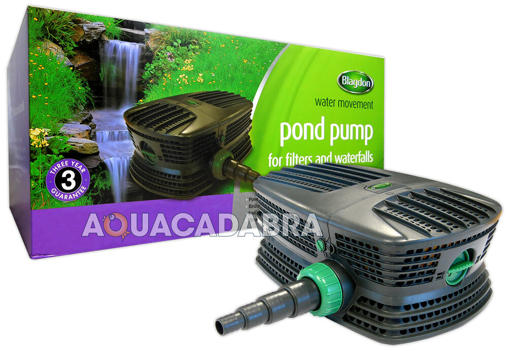 Blagdon force hybrid fh garden fish pond filter pump koi for Koi pond water pump