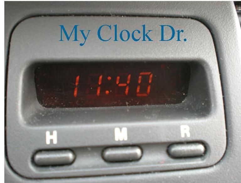 Service Manual How To Change Clock On A 1998 Honda