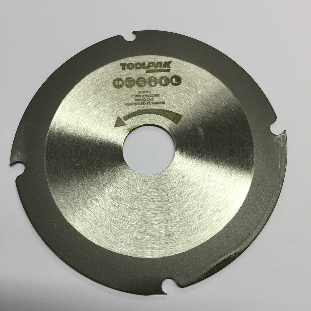 Multi Purpose Saw Blade Fits 115mm 4 1 2 Quot Angle Grinder