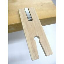 Jewelry Bench Slotted V Clamp Jewelers Bench Pin Clamp for Workbench