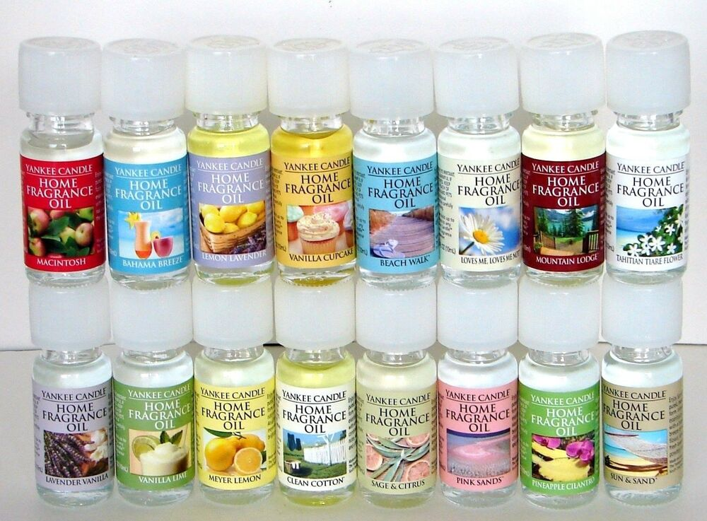 Yankee candle home fragrance oil u choose ebay for Best scented oils for home