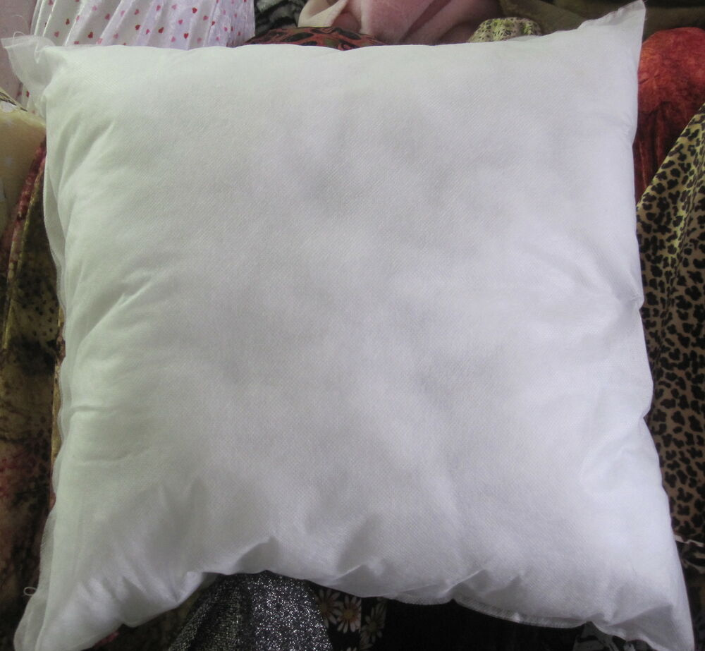 Throw Pillow Form Insert : 16x16 ACCENT SYNTETIC PILLOW SHAM FORM INSERT eBay