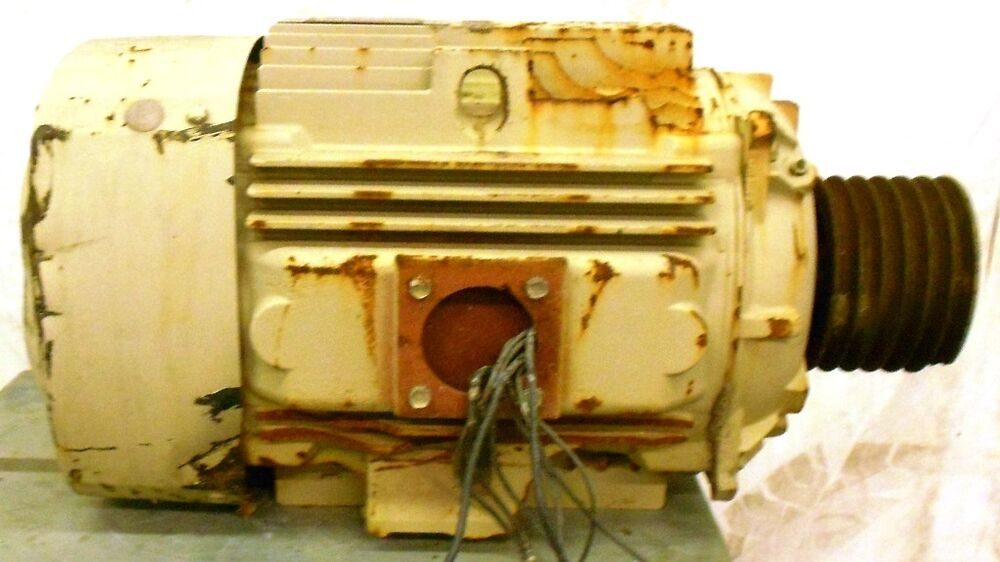General electric ac motor 5ks324bs205d21 40 hp 1780 rpm for 40 hp 3 phase electric motor