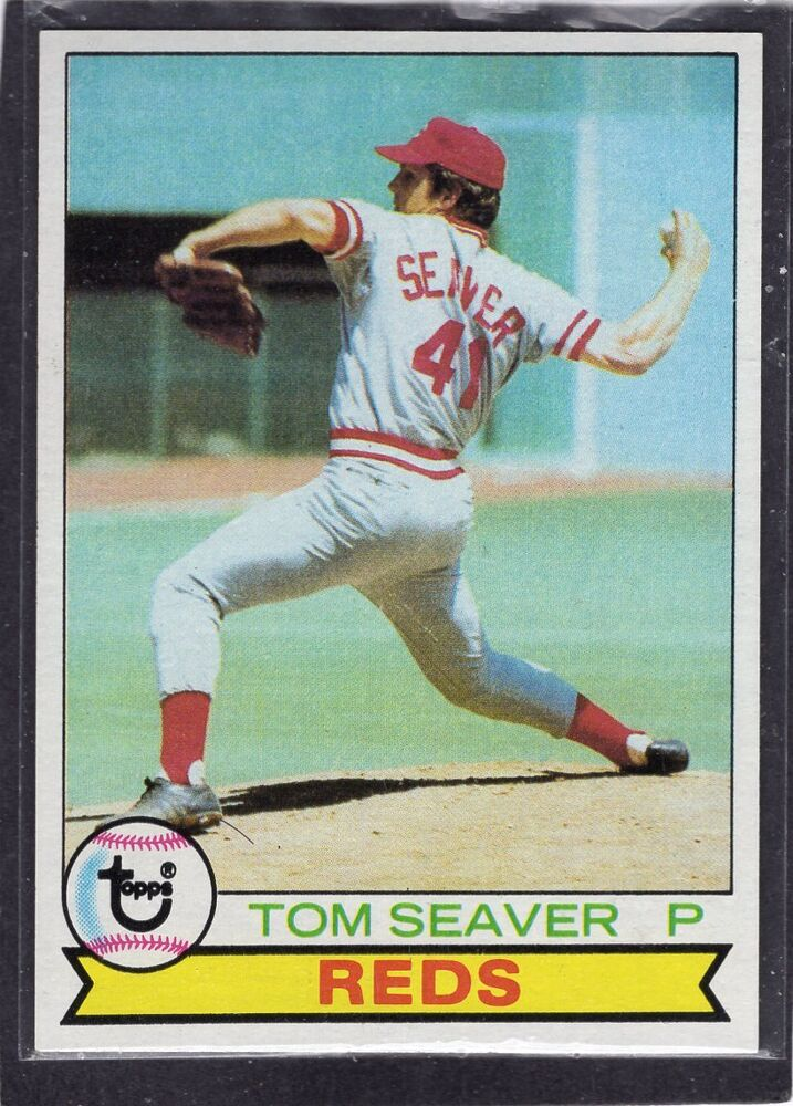 1979 Tom Seaver Topps Baseball Card 100 Cincinnati