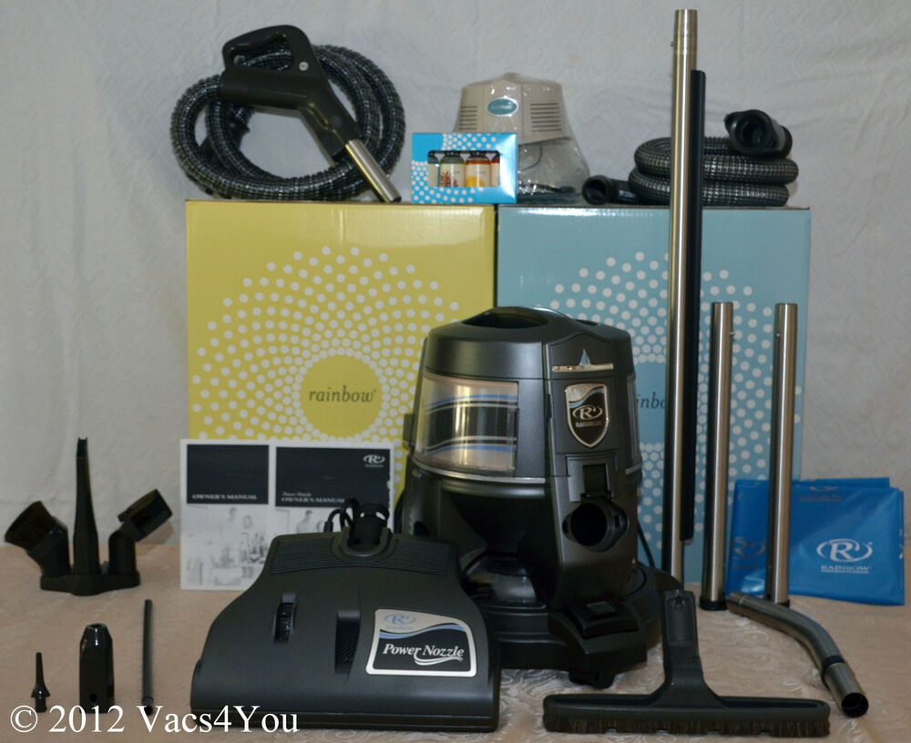 Rainbow E2 Newest Blue Model Two Speed Vacuum Ebay