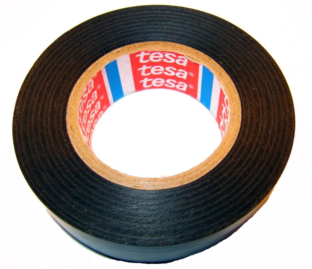 tesa isolierband 4252 kfz 19mm x 20m iso band adhesive tape isoband klebeband ebay. Black Bedroom Furniture Sets. Home Design Ideas