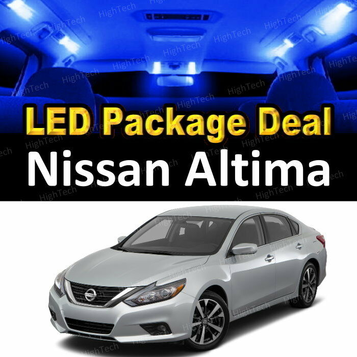 5x blue led lights interior package deal for 2016 2017 nissan altima ebay 2015 nissan altima interior lights