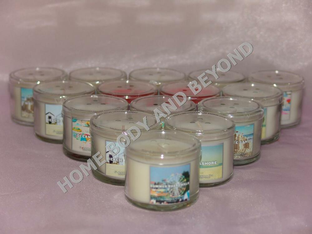 bath and body works 1 3 oz mini scented candle u choose scent ebay. Black Bedroom Furniture Sets. Home Design Ideas