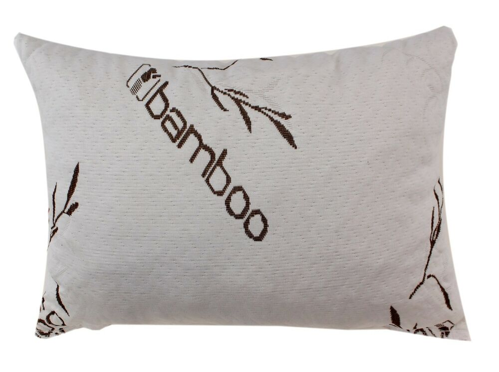 Bamboo Covered Shredded Memory Foam Pillow 100 Washable