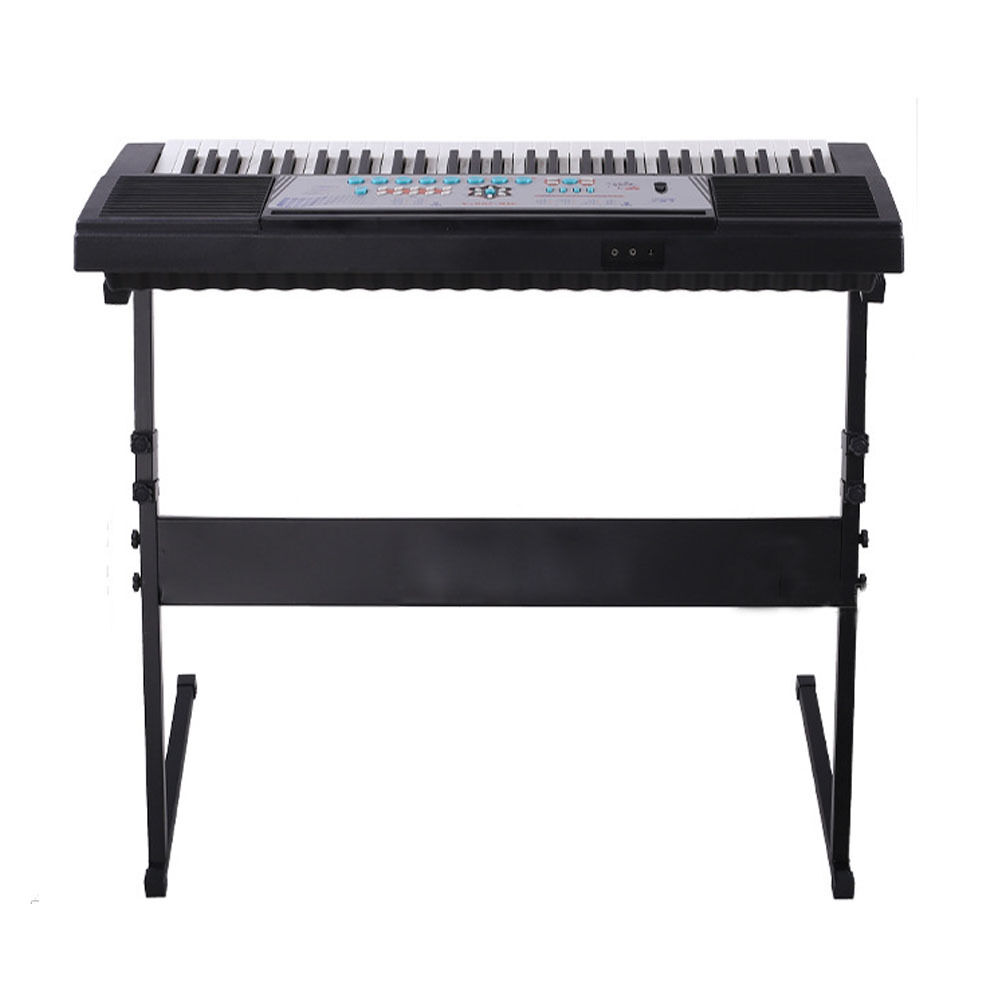 Electric Keyboard Electronic Piano Z Shape Types Rack