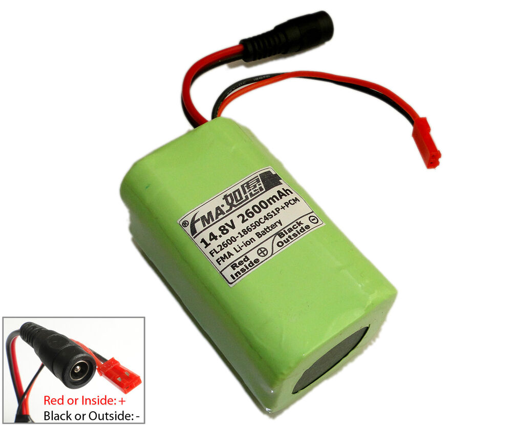 Vacuum Cleaner Robot Battery 14 8v 2600mah By Sanyo Li Ion