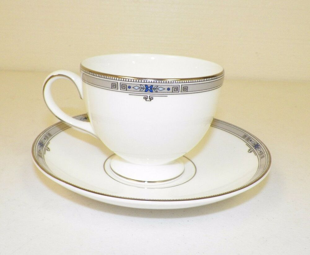 wedgwood bone china amherst footed cups saucers made in england ebay. Black Bedroom Furniture Sets. Home Design Ideas