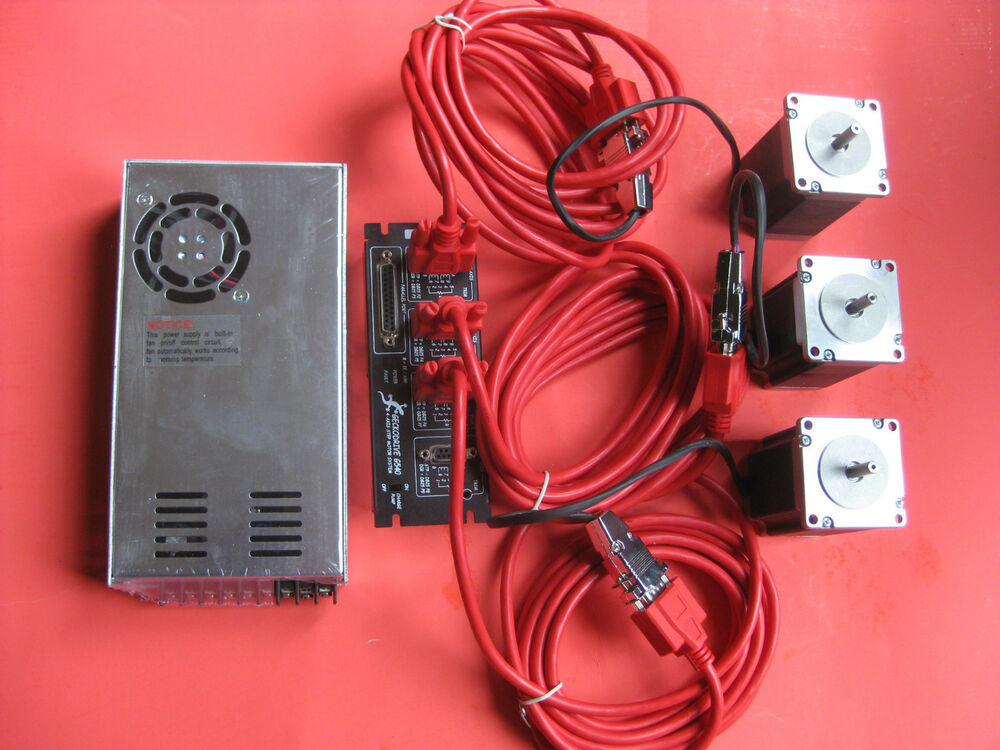 3 Axis Stepper Motor Cnc Router Mill Electronics Kit