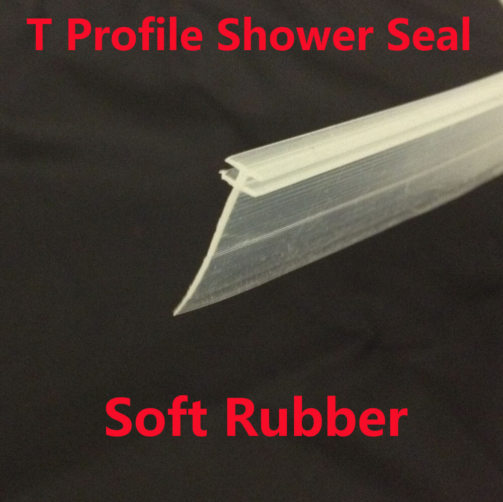 T Profile Channel Shower Screen Seal Side Seal For Folding