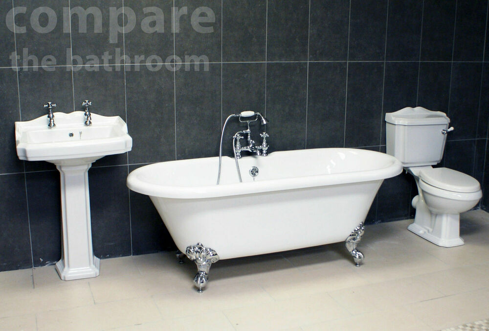 Legend Traditional Bathroom Suite At Victorian Plumbing Uk: Traditional Bathroom Suite Legend Edwardian Classic