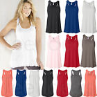 Bella Ladies Flowy Racerback Tank Top Wemens S-2XL  - 8800 -B8800