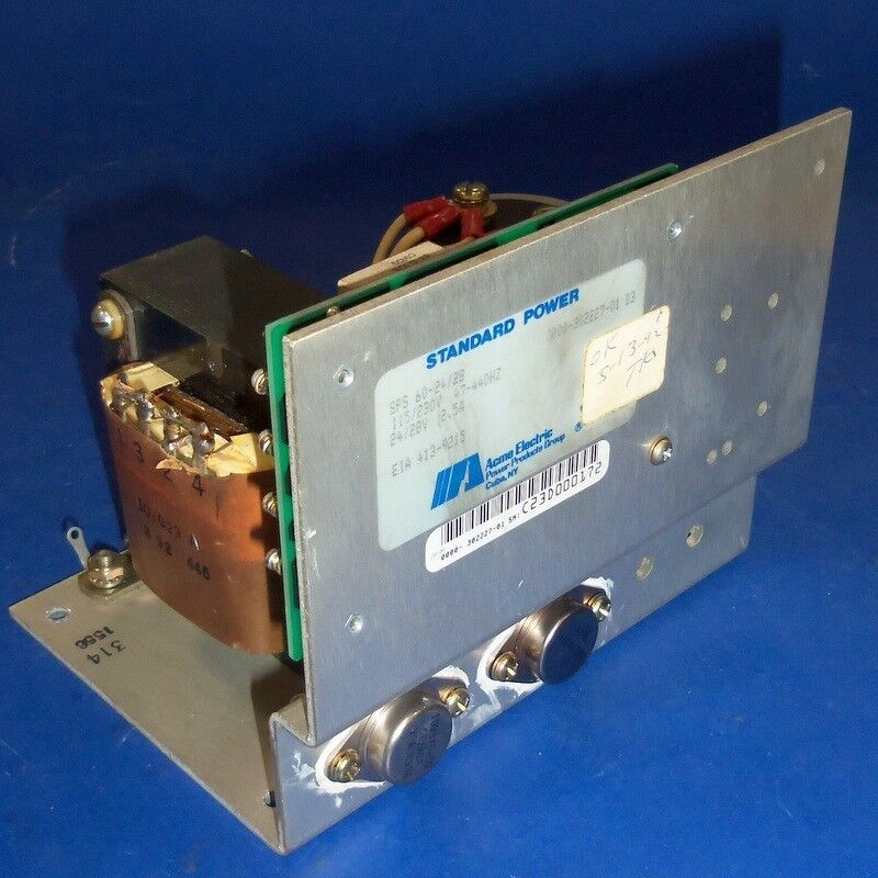 Acme Electric Standard Power 24 28v 2 5a Dc Power Supply