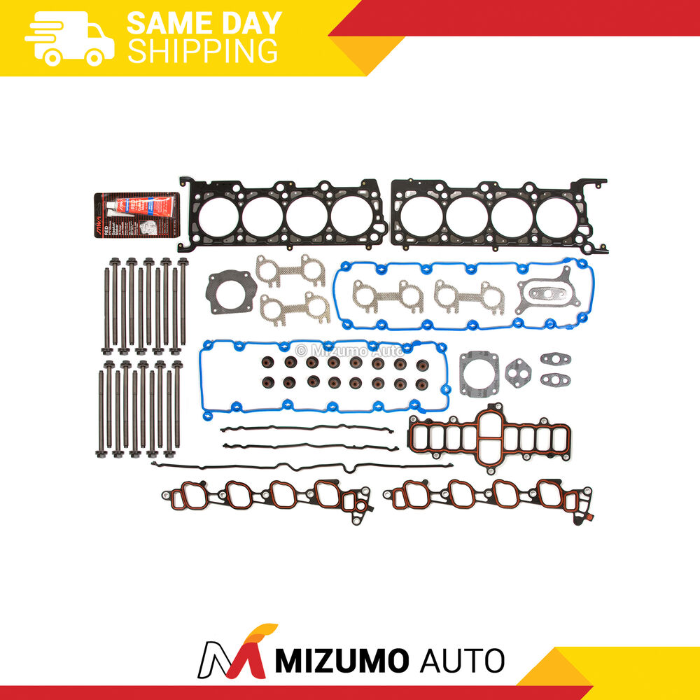 Head Gasket Bolts Set Fit 1999 Ford F150 F250 Lincoln