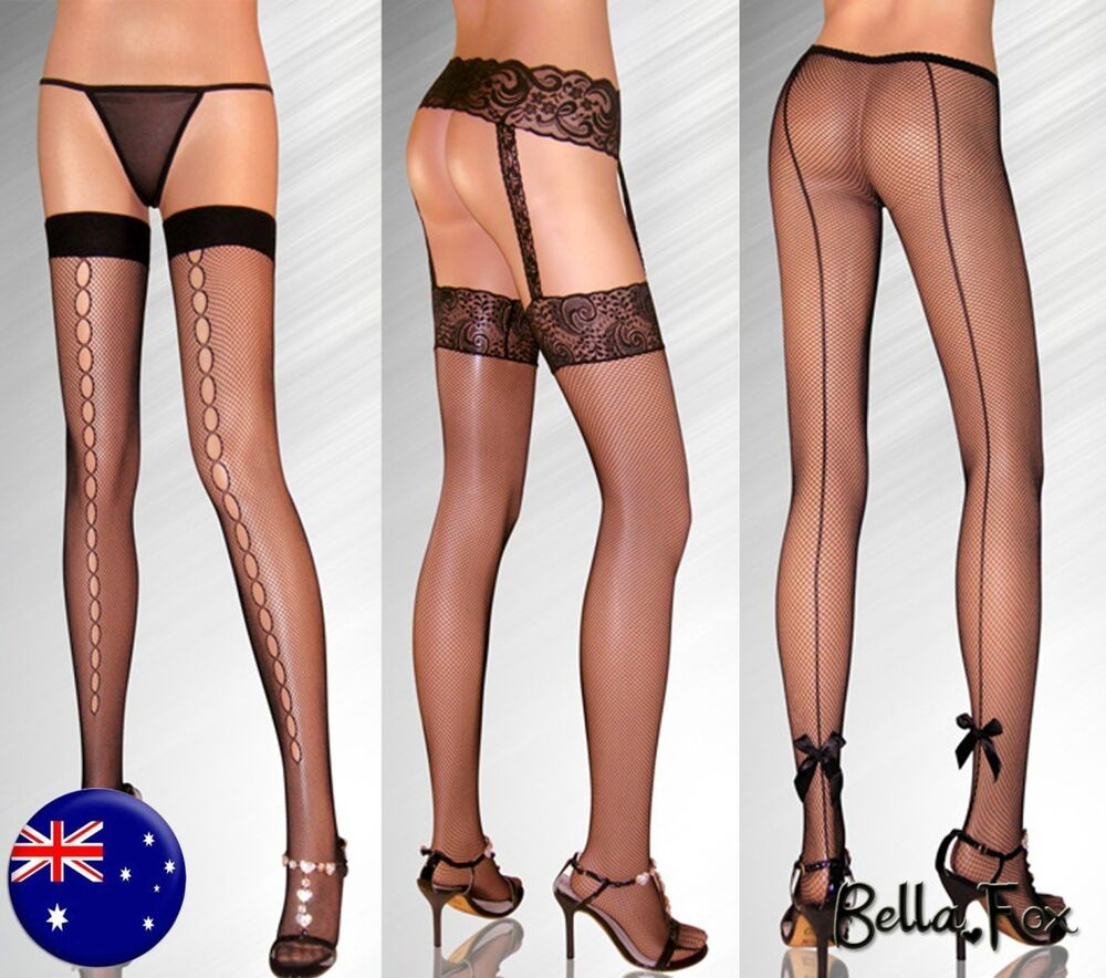 Fishnet stocking lingerie can recommend