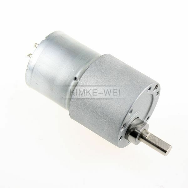 12v Dc 5rpm High Torque Gear Box Electric Motor Ebay