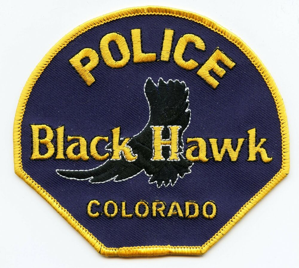 BLACK HAWK COLORADO CO POLICE PATCH