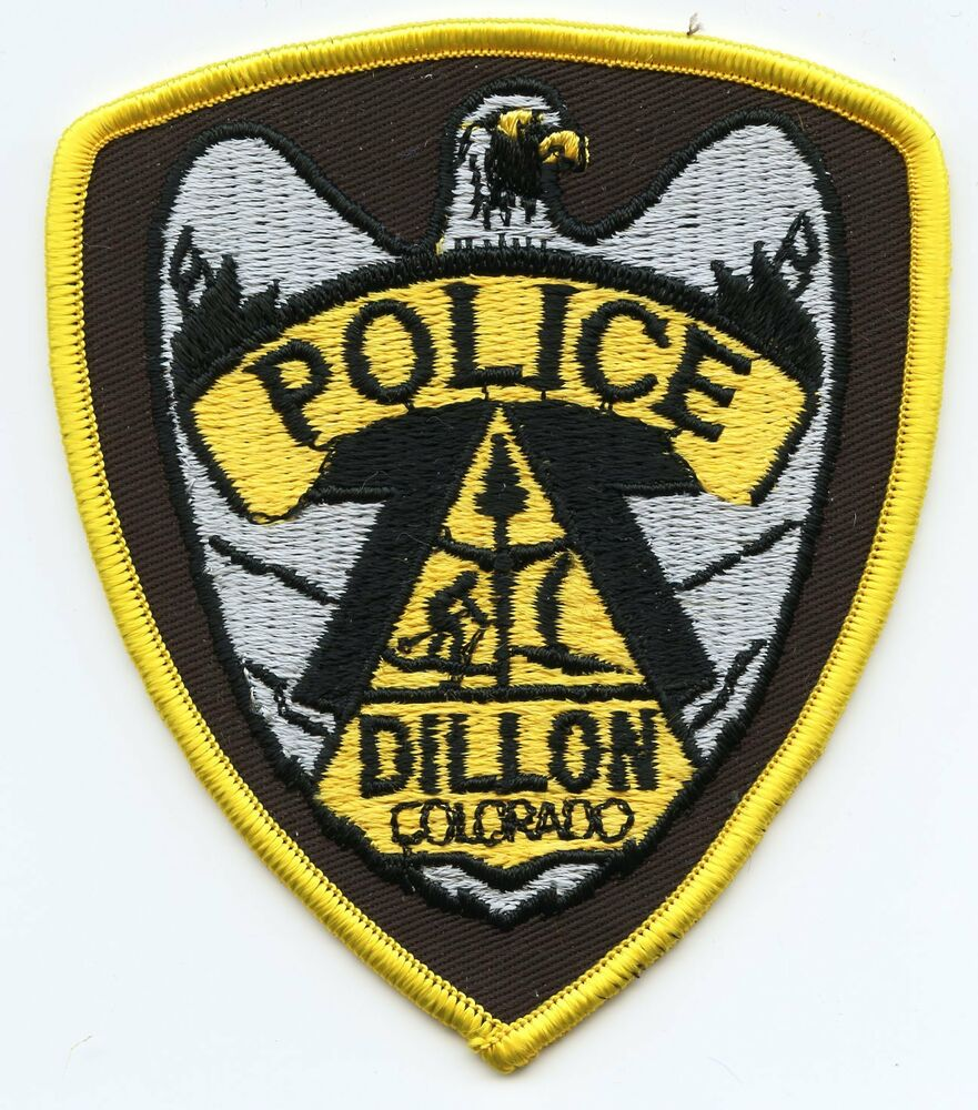Old Vintage DILLON COLORADO CO POLICE PATCH