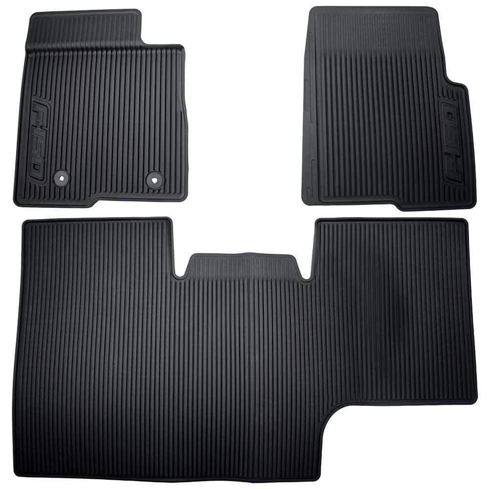 Oem 10 14 Ford F 150 All Weather Floor Mats Blk Supercrew