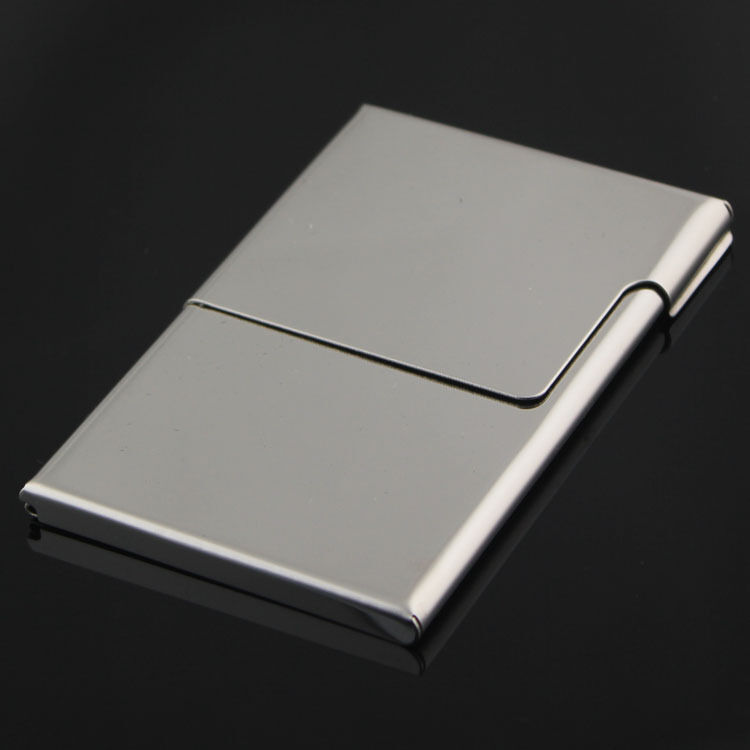 Creative semi open business driver id credit card holder for Creative business card holders