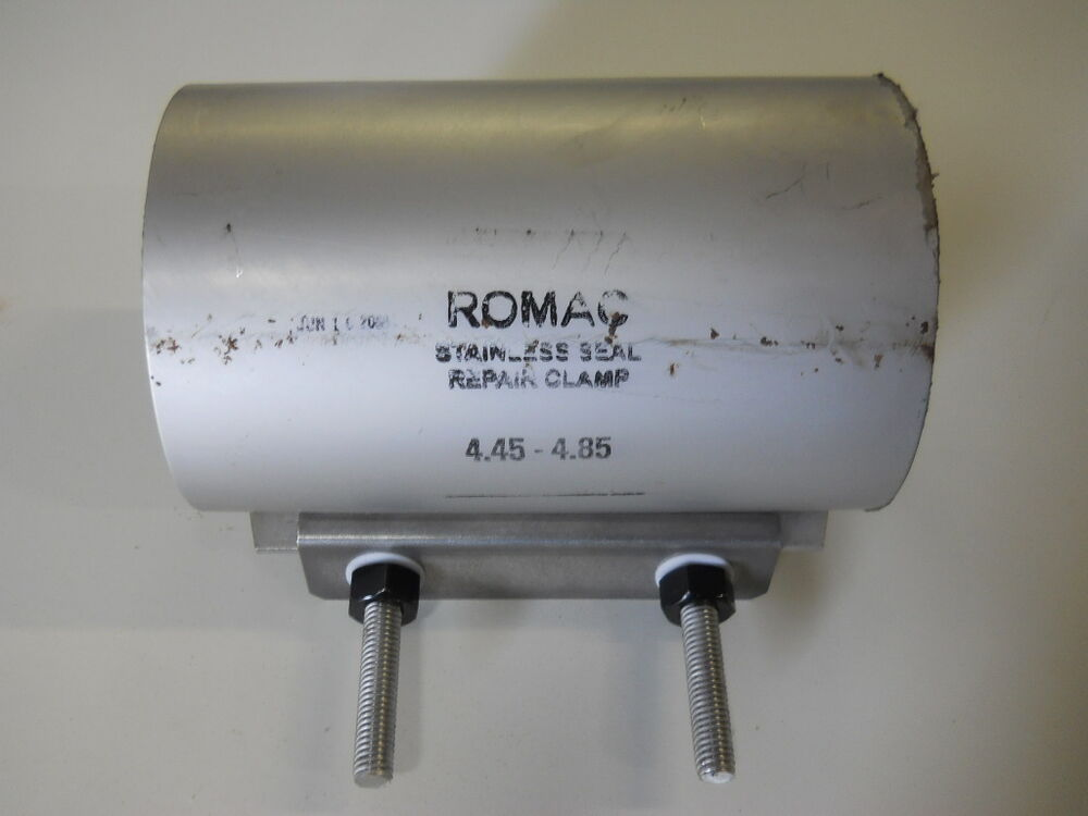 Romac stainless steel repair clamp quot ebay