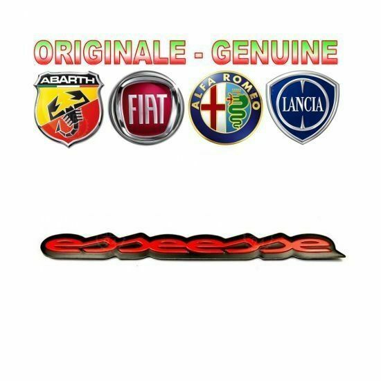 frp targhetta motore esseesse fiat grande punto abarth originale logo placa ebay. Black Bedroom Furniture Sets. Home Design Ideas