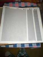 l. NOS Letraset   Letratone Various Styles  10 x 15 Sheet    Use Drop-Down Box