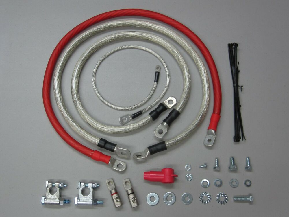 Big Electrical Cable : Awg big upgrade kit wire top