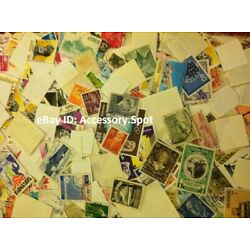 Kyпить Used off Paper 1000 WW Stamps From huge HOARD BOX collection FREE SHIPPING!!! на еВаy.соm