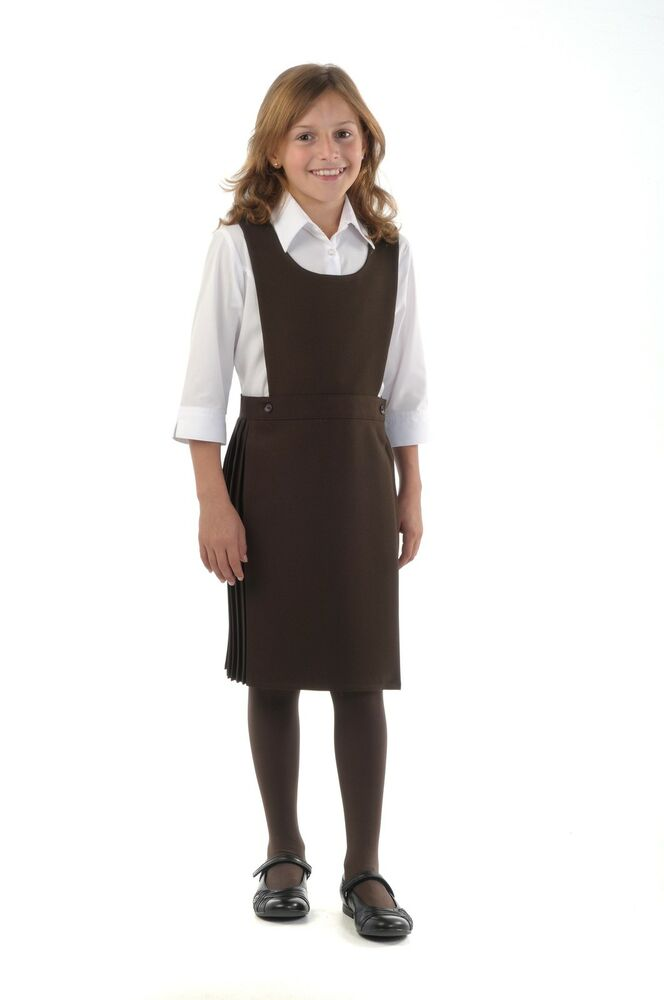 Kilt style back to school pinafore dress BNWT Made in ...