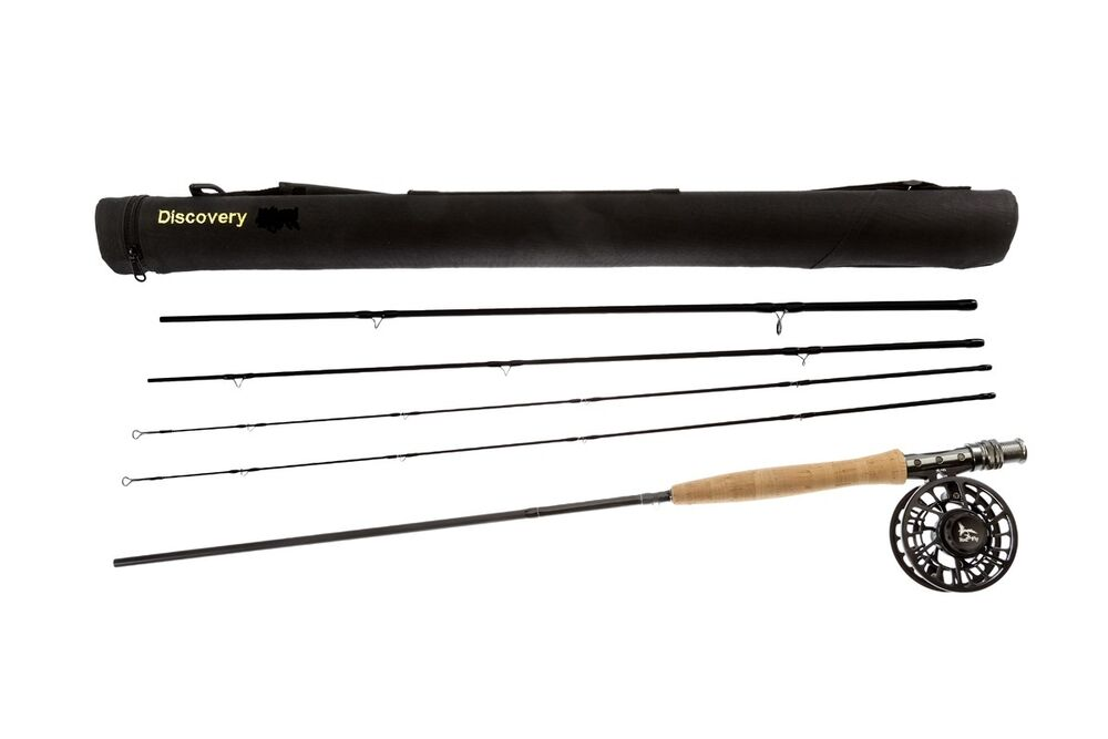 Fly fishing rod hi end combo 9ft lw 6 7 4 sec rod fly reel for Fly fishing rod and reel combo