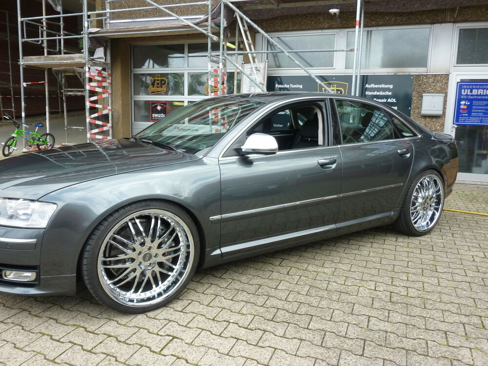 audi a8 typ 4e0 tieferlegung f r luftfahrwerk airmatic ebay. Black Bedroom Furniture Sets. Home Design Ideas